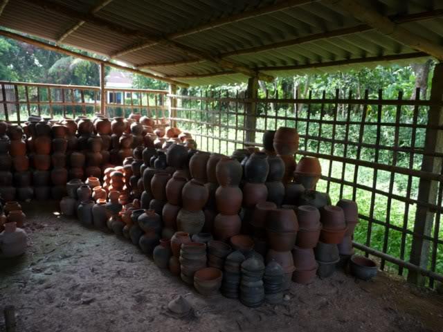 Một trong những sản phẩm Gốm từ làng cổ Phước Tích - Huế