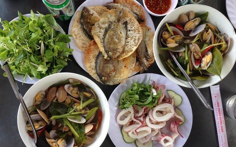 Du lịch Phá Tam Giang nên ăn những món gì?