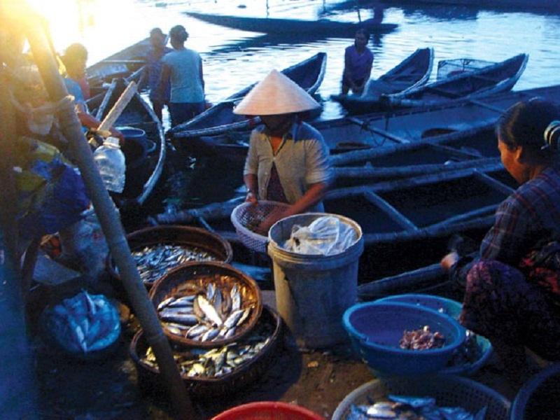 Chợ nổi Tam Giang