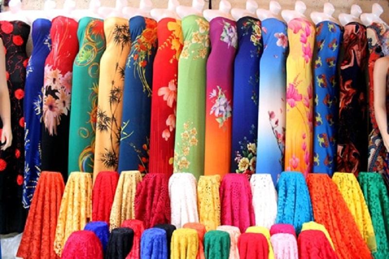 Vải may áo dài Huế