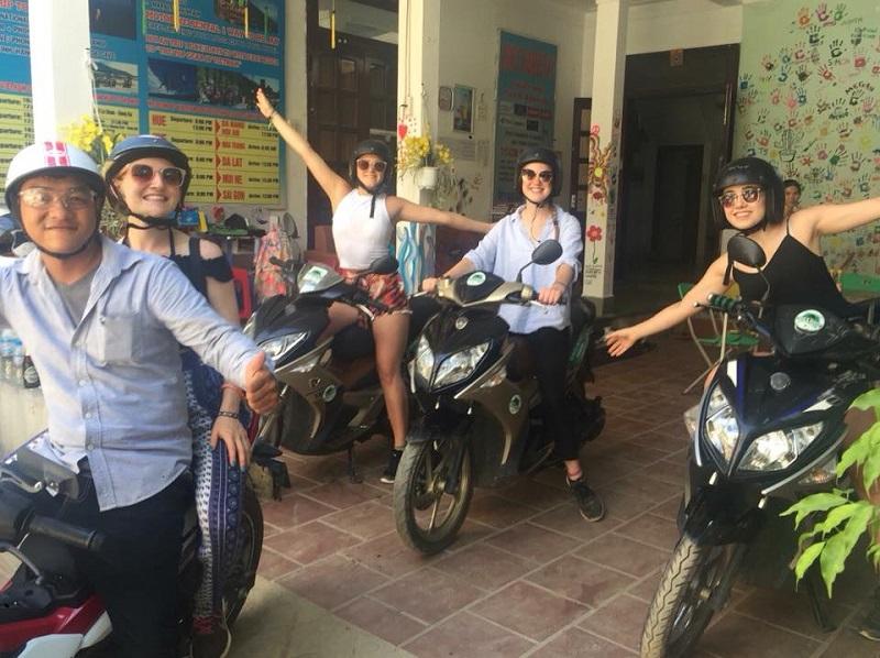 Cho thuê xe máy Huế Trường Thiện