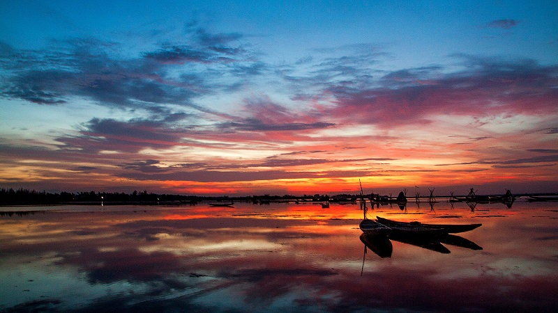 Địa điểm du lịch Hếu Phá Tam Giang